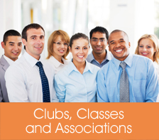 Clubs, Classes and Associations Listings