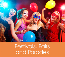 Festivals, Fairs and Parades Listings