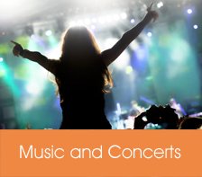 Music and Concerts Listings